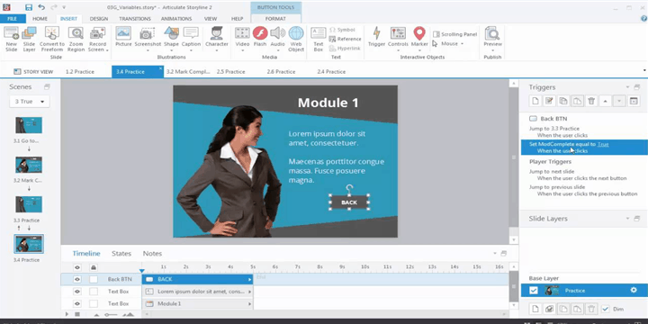 Articulate Storyline for Rapid eLearning Development - Hassle Free Translation & Conversation